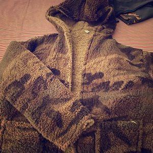 Fleece reverseable